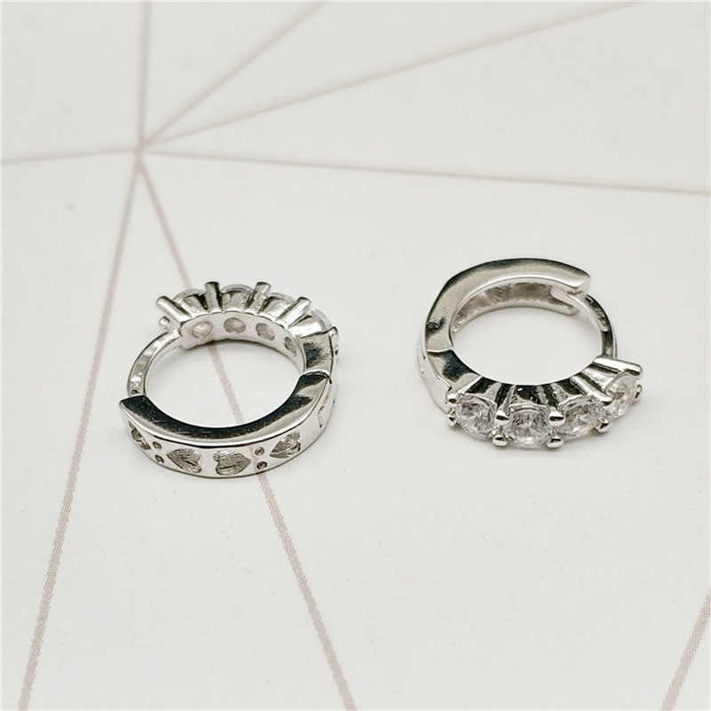 3a211c614 ... SHDEDE Small Hoop Earrings Fashion Jewelry For Women CZ Crystal from Swarovski  Party Lady Accessories + ...