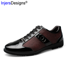New Fashion Casual Leather Shoes Men Lace-Up Business Driving Shoes High Quality Genuine Leather Casual Men Shoes Big Size 38-45 cheap Adult casual shoes Cow Leather Rubber Basic Breathable 882 men casual leather shoes Spring Autumn Solid Fits true to size take your normal size