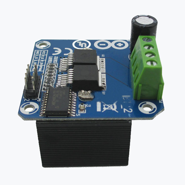 где купить CNIM Hot Semiconductor Motor Driver Auto BTS7960 43A H-Bridge PWM Drive For Arduino HOT дешево