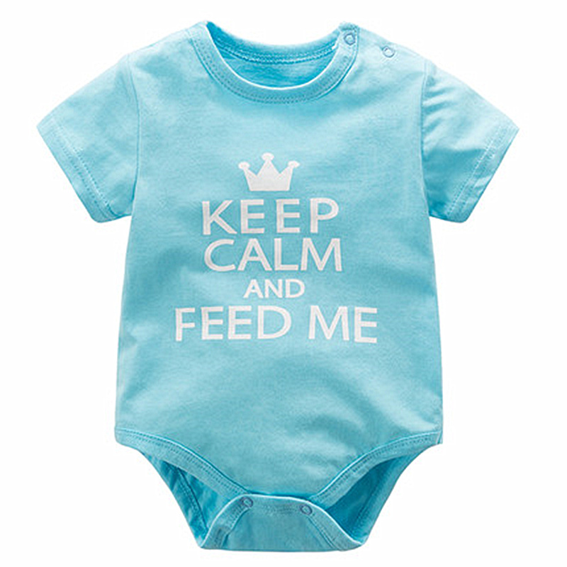 Unisex Newborn Baby Clothes Bodysuit Summer Infant Jumpsuit Overall Short Sleeve Baby Girl Boy Clothing One-piece Baby Pajamas