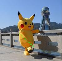 Pikachu mascot kostuum stripfiguren fancy dress