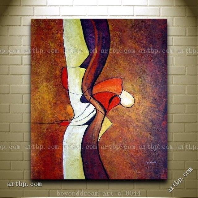 Peinture abstraite de objets peinture à l'huile abstraite