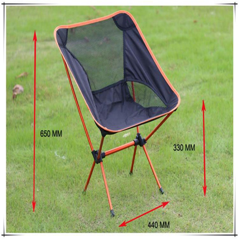wholesale ultralight portable moon chair folding breathable outdoor chair