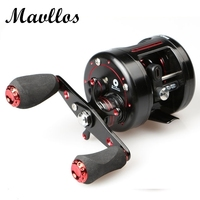 Mavllos 9 1BB 5 3 1 Snakehead Hunting Round Baitcasting Reel Right Hand Metal Handle Saltwater
