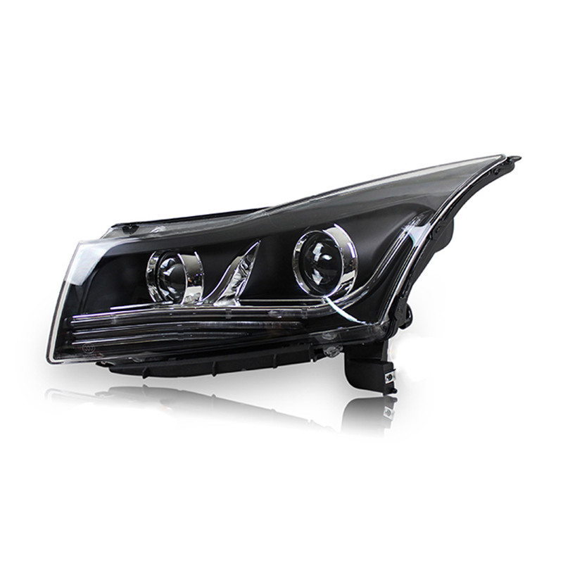 Ownsun LED Eagle Eye DRLs HID Bi-Xenon Projector Len Headlight For Chevy Cruze 2009-2012 Chevrolet Cruze