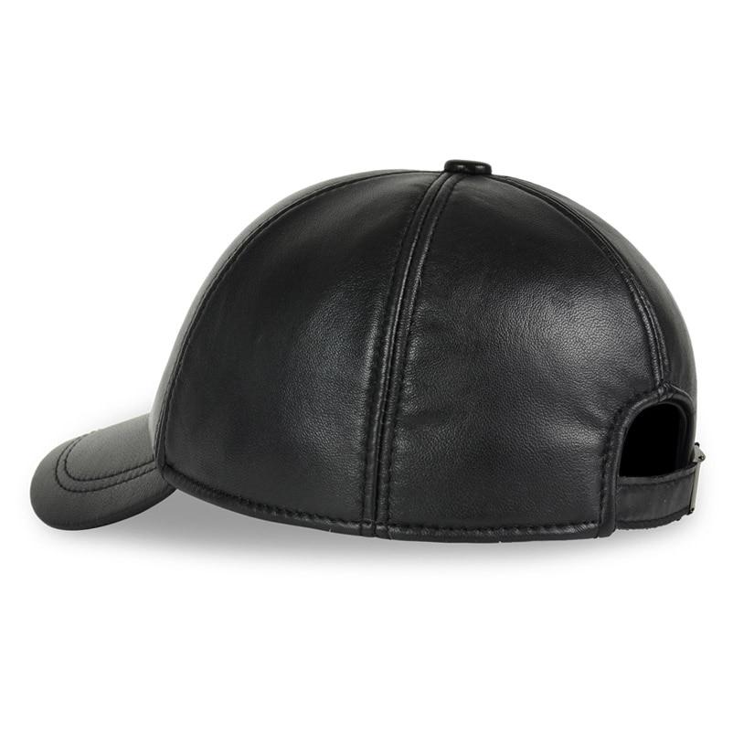 HL008 hombre de cuero de primavera ajustable Deluxe pelota de ... e54274e3ea9