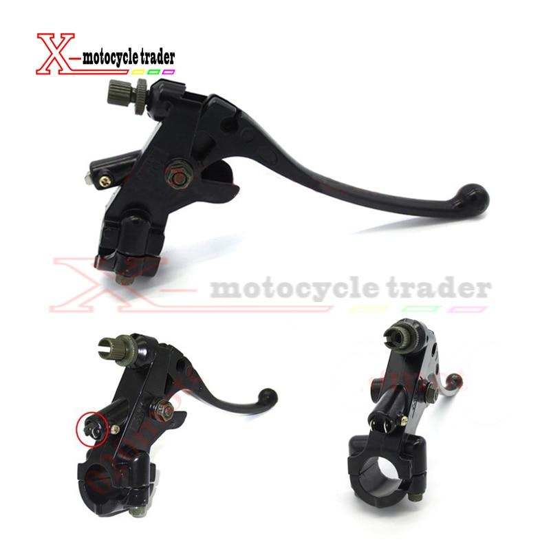 Harley Motorcycle Handlebar Hand brake clutch handlebar levers Aluminum Left 7/8 22mm