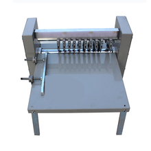 Adjustable Speed Pressure Sensitive Marker Slitting Machine, Electric Indentation Machine, Line Cutting Machine 460E