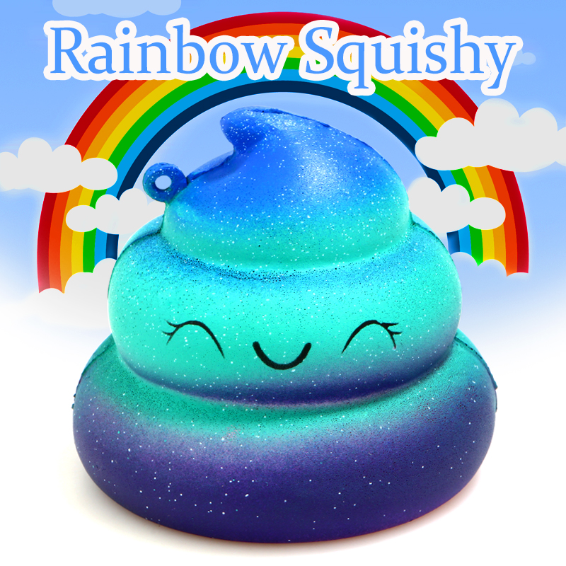 Squishy Fun Crazy Poo Sce Relief Toys Imitation Soft Slow Rebound Childrens Toys Decorated with Decorative Pieces Decorations