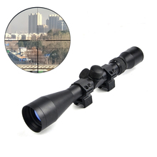 SEIGNEER 3-9X40 Tactical Riflescope Optic Sniper Rifle Scope Hunting Scopes Airgun Rifle Outdoor Scope with Free Mounts 3 9x40 red green dot riflescope sniper tictial hunting rifle scope with rangefinder reticle