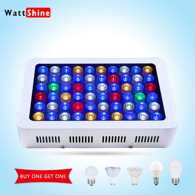 Fish tank 180w Dimmable Led Aquarium lights Free shipping for marine aquarium professional Full spectrum Decoration hot sale