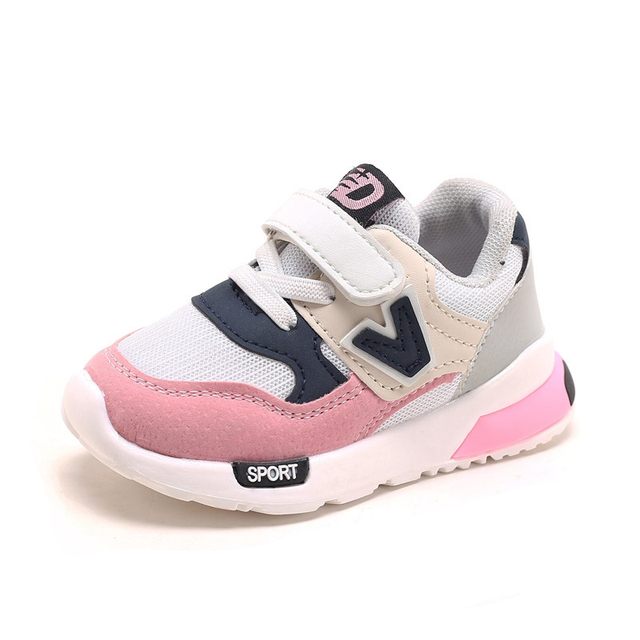 de11e1d50f3d3 Boys Girls Spring Sneakers Baby Toddler Sneakers Kids Casual Shoes Air Mesh  Outdoor Sport Shoes Children Running Shoes