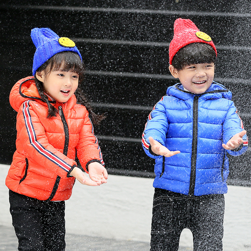Boys Girls outerwear cotton winter Hooded baby girls boys Jacket Kids Coat children's clothing Thick Down & Parkas children winter coats jacket baby boys warm outerwear thickening outdoors kids snow proof coat parkas cotton padded clothes