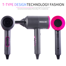 Professional Negative HighPerformance Heat Setting Ionic Hairs Blow Dryer 1200W and Ceramic - Three Replaceable Nozzles