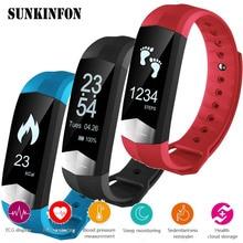 Купить с кэшбэком CD01 ECG Blood Pressure Monitor Bluetooth Smart Wristband Sport Fitness Smart Band Bracelet for Samsung Galaxy S8 / S8 Plus / S7