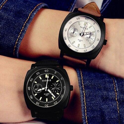 YAZOLE Fashion Quartz Watch Women Watches Ladies Brand Wristwatches For Female Wrist Clock Ceasuri Montre Femme Relogio Feminino 2016 yazole brand watches men women quartz watch female male wristwatches quartz watch relogio masculino feminino montre femme
