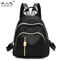 NVRENLIAN 2018 New Vintage Women Canvas Backpacks School Bags For Teenagers Boys Girls Large Capacity Laptop