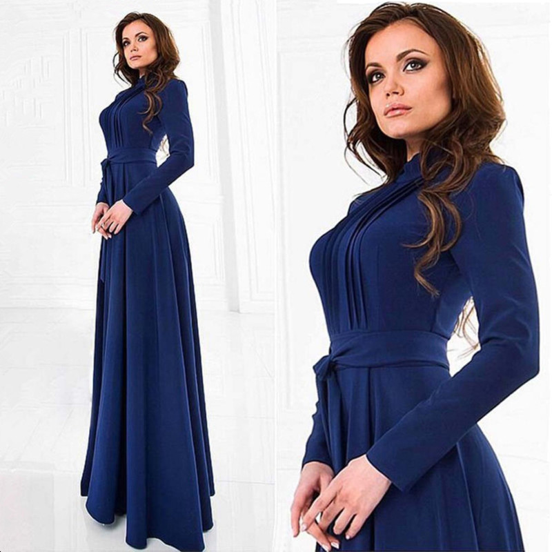 Pregnant Long Dresses with Sashes Women Casual Long Sleeve O Neck Evening Party Long Maxi Maternal pregnancy dresses by megyn designer maxi dresses high quality women long sleeve crystal beading print vintage evening party long dresses vestidos