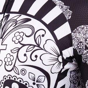 Image 5 - Bianco Del Cranio di Stampa di Sublimazione Ciclismo Jersey best 2019 Pro Poliestere Bike Wear Uomini di Estate Quick Dry Bicicletta Top Bicicletta Camicia