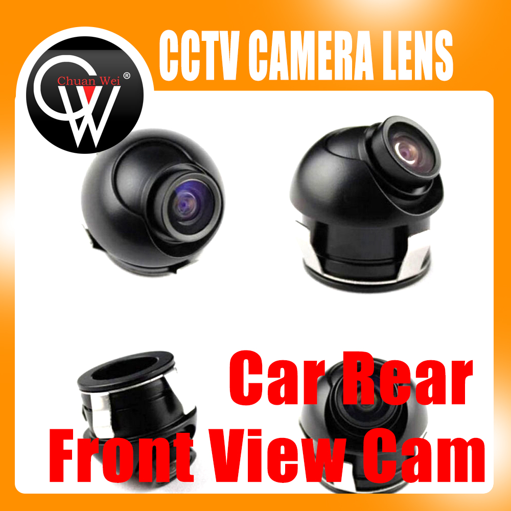 Universal 360 Degrees CCD Car Front/Side/Rear View Reverse Camera Night Vision Free Shipping new 170 degrees waterproof backup night vision car rear view reverse camera free shipping