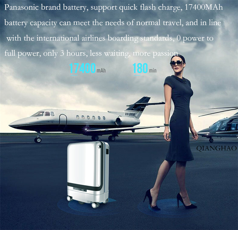 Smart follow suitcase 44