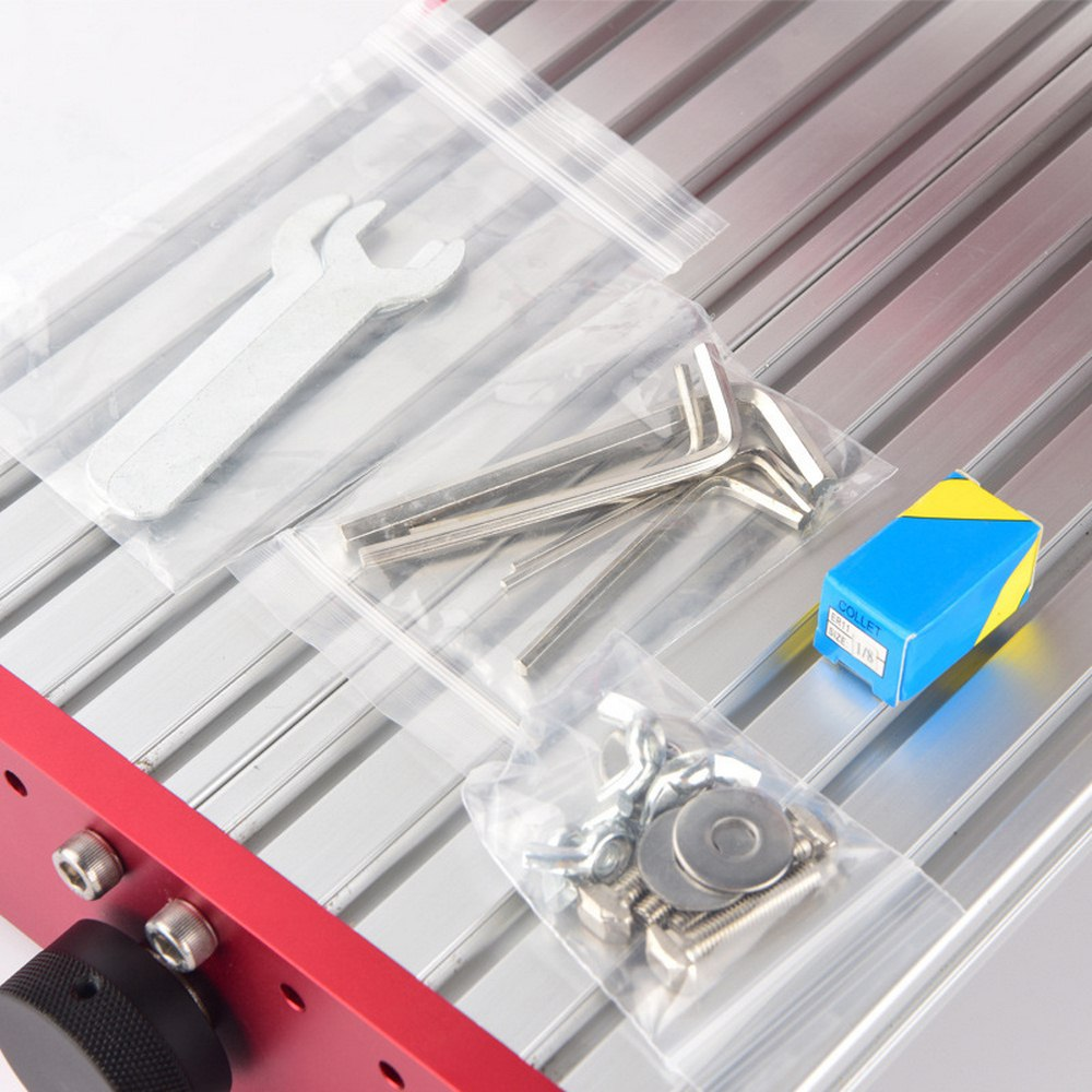 CNC 1419 en aluminium coupe pcb Machine de gravure petites Machines de CNC pour fer de bureau en métal cuivre bois Route outil de gravure - 6