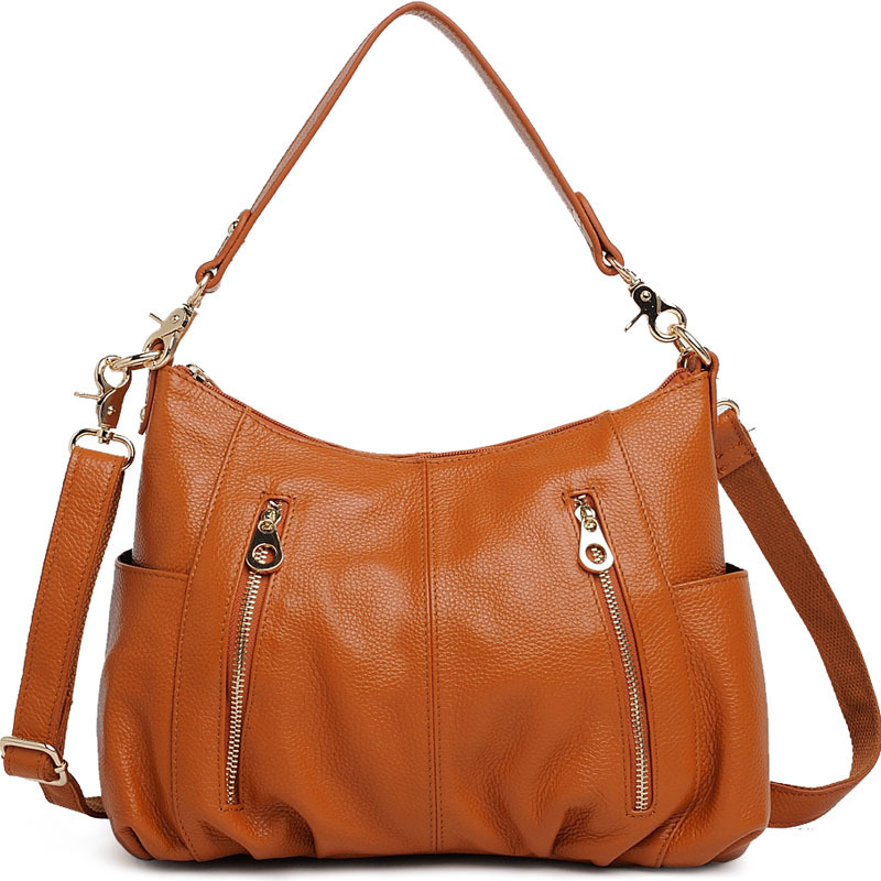Designer handbags high quality real genuine leather women leather handbags cowhide fashion shoulder bag women messenger bags fashion women bags 100% first layer of cowhide genuine leather women bag messenger crossbody shoulder handbags tote high quality