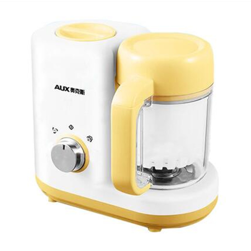 220V AUX Mini Baby Solid Food Cooking Machine Multifunctional Stewing Cooking Machine Baby Porridge Maker Machine dmwd household electric mini slow cooker 140w mini mechanical timer stewing soup porridge pot ceramic food cooking machine 1 5l