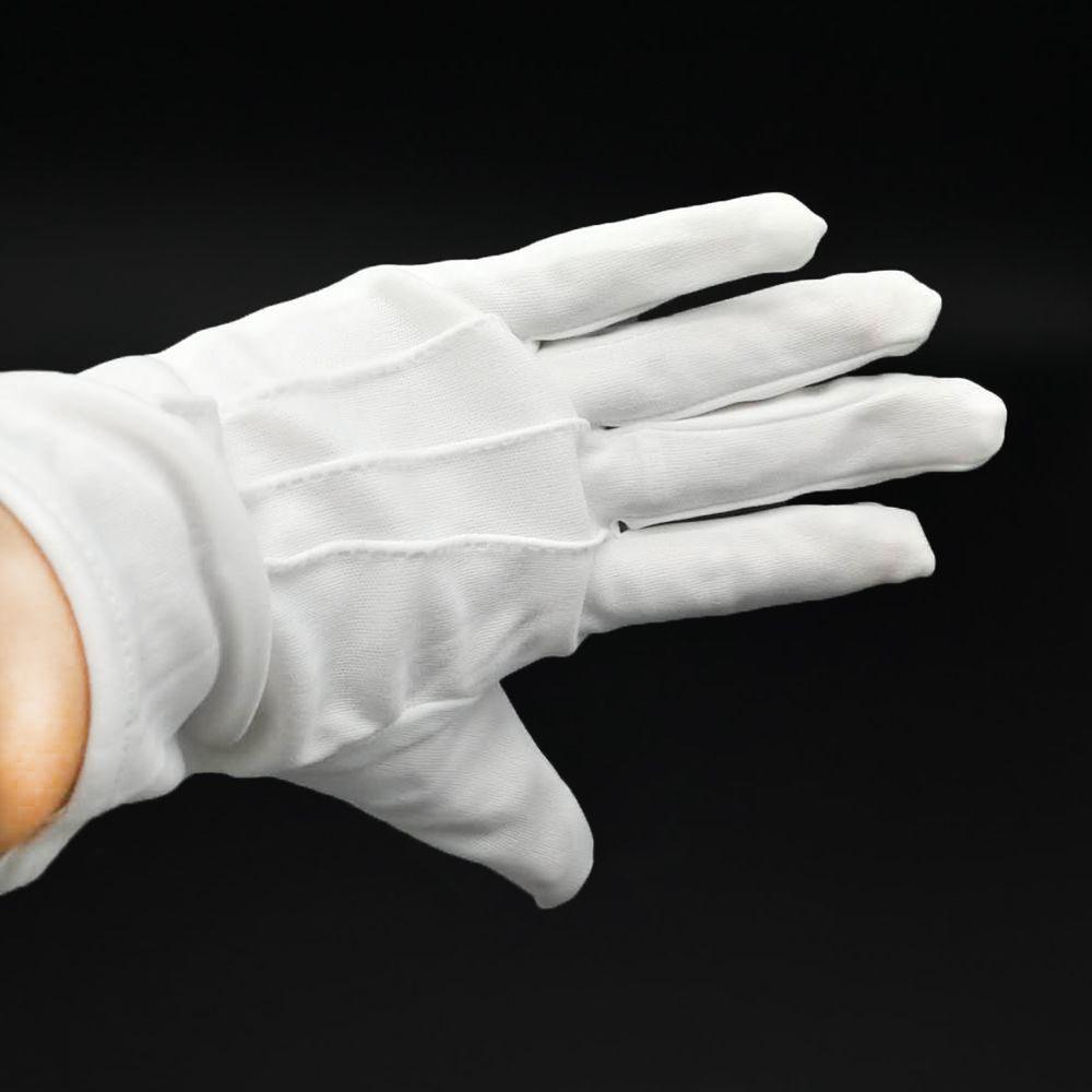 Hot Unisex White Formal Wedding Glove Tuxedo Honor Guard Parade Santa Inspection