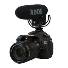 RODE VideoMic pro avec Rycote Lyre Shockmount Microphone gun Shot Mic pour canon 5D2 5D3 6d 7D nikon d800 d600 caméra