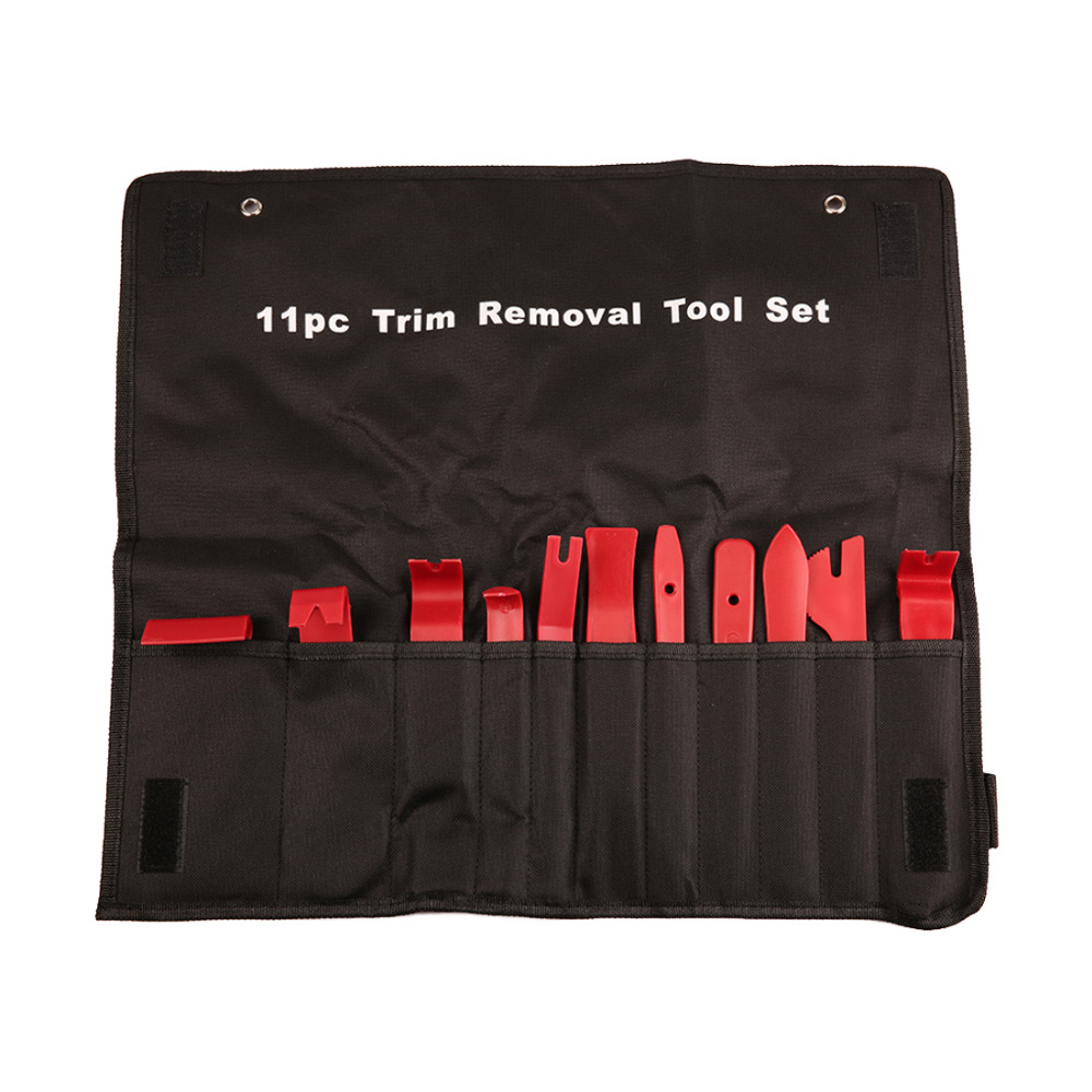 Image 2 - BU Bauty 11pcs Professional Car Vehicle Door Dash Trim Tool Panel Molding Clip Retainer Removal Pry Tool Set Car Auto Tool Kit-in Cockpit Care from Automobiles & Motorcycles
