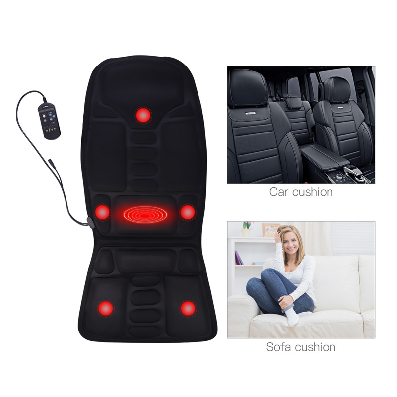 Electric Massage Cushion Car Seat Massager Office Heated Chair Pad Shiatsu Kneading Back Massager Stress Relief Sofa Cushion 31Electric Massage Cushion Car Seat Massager Office Heated Chair Pad Shiatsu Kneading Back Massager Stress Relief Sofa Cushion 31