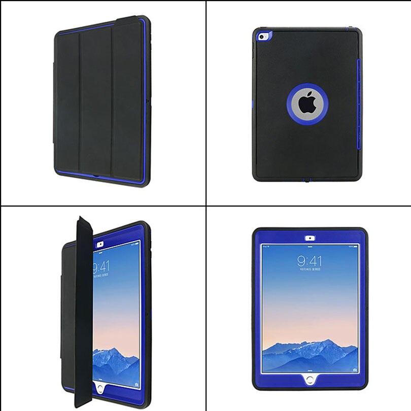 Para iPad Mini 4/3/2/1 Smart Cover + Silicona Estuche rígido de TPU - Accesorios para tablets - foto 5
