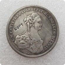 Tpye#3_1770 Россия 1 монета рубль копия