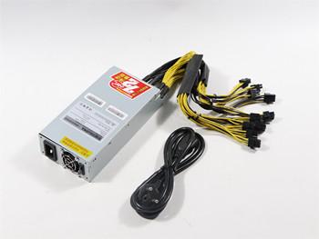 Nowy BTC LTC DASH za górnik 2150W zasilacz dla Antminer S9 S9SE S9k T9 + L3 + E3 Z9 Z11 Ebit E9i E10 2 E110 3 tanie i dobre opinie YUNHUI 10 100 1000 mbps BTC LTC DASH MINER POWER SUPPLY