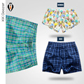Hot High Quality Cueca Boxer Men Cotton Underwear Shorts Household Fashion Brand Sexy Comfy Soft breathable Loose Plaid Pants