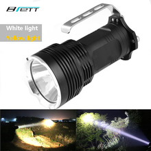 Flashlight led XM-L2 White or T6 yellow can choose Shock Resistant portable lamp Camping Adventure Hunting LED Searchlight