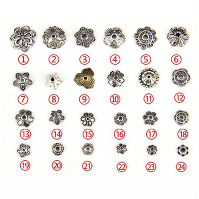 Tibetan Silver Smiley Spacer Beads Round flat Smiley Jewelry Findings DIY 10mm