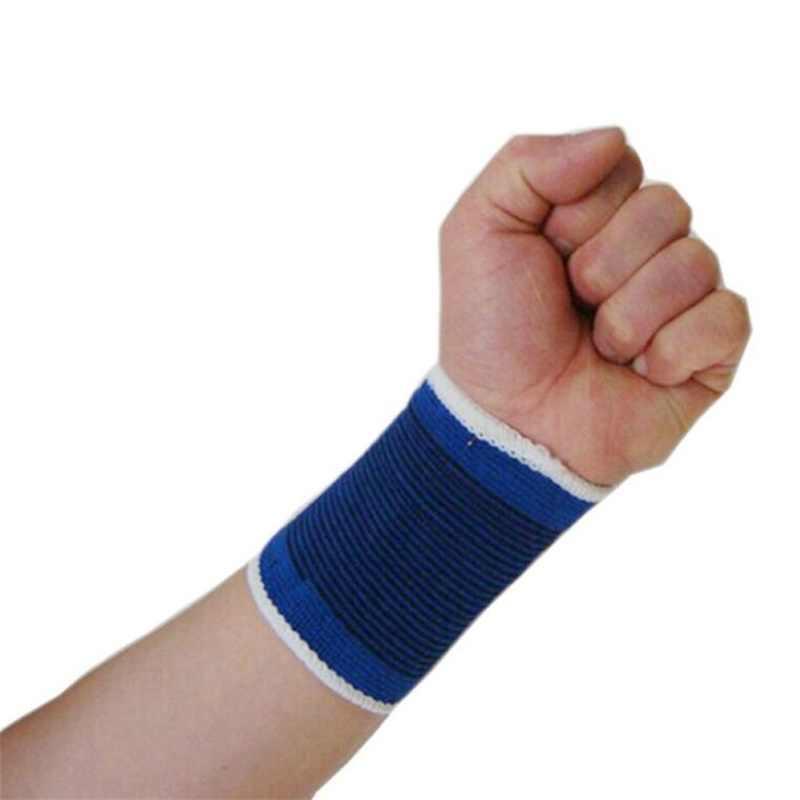 1 adet elastik spor halter spor bandaj bileklik el pamuklu spor desteği bilek bilek koruyucu tenis