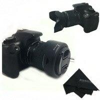 58MM Reversible Petal Flower Lens Hood For Canon Rebel T6i T6s T5i T5 T4i T3i T3