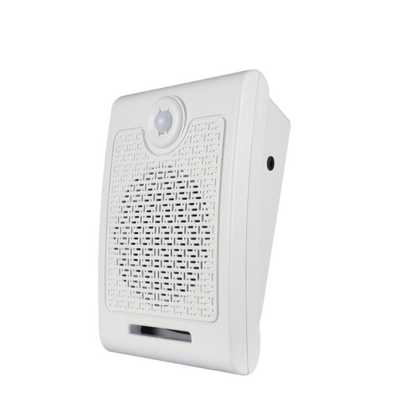 WT01 Scream altavoz PIR infrarrojos sensor de movimiento tarjeta SD reproductor de audio para casa embrujada efecto de sonido especial 10 W - 2