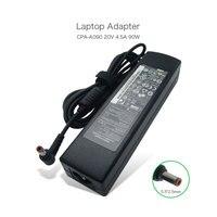 20V 4.5A 90W 5.5*2.5mm CPA A090 ADP 90DD B Power Supply for lenovo Y460 Y470 Y580 G480 Y450 IDEAPAD Z570 1024 DEU 54Y8864 Laptop