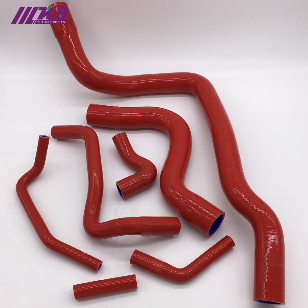 US $47 51 20% OFF|Silicone Radiator Hose Kit For 97 Volvo 850 T 5/98 00  S70/98 04 V70-in Hoses & Clamps from Automobiles & Motorcycles on