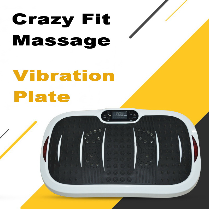 BESGO Crazy Fit Massage Vibration Plate Exercise Vibration Plate Machine Vibration Plate Oscillating with Music Remote vibration of orthotropic rectangular plate