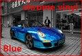 1 unid 1.52*0.5 M Azul vinilo del abrigo del coche del cromo electrochapa película del vinilo del cromo del vinilo con la burbuja FREESHIPPING TTT
