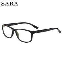 cbacf8391 سارة مكافحة الأزرق أشعة الكمبيوتر نظارات الرجال الأزرق ضوء طلاء الألعاب  نظارات للكمبيوتر حماية العين الرجعية نظارات المرأة