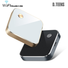 Newest 64GB Wireless USB Flash Drives WIFI Pendrive For iPhone / Android / PC Smart Pen Drive Memory USB WIFI Movable U Disk