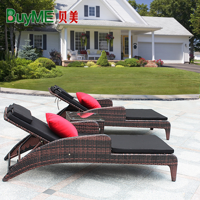 Marvelous Us 743 75 Loungers By The Pool Loungers Lying Bed Beach Hotel Balcony Outdoor Rattan Sofa Deck Chair Recliner In Sun Loungers From Furniture On Machost Co Dining Chair Design Ideas Machostcouk