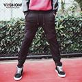 Viishow Men Leisure Pants Fashion Harem Men Sweatpants Men's Black Brand Clothing Trousers KC56361