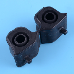beler Black 2pcs Left & Right Front Suspension Stabilizer Bar Bushing 48815-42090 48815-42100 Fit For Toyota RAV4 2006-2012